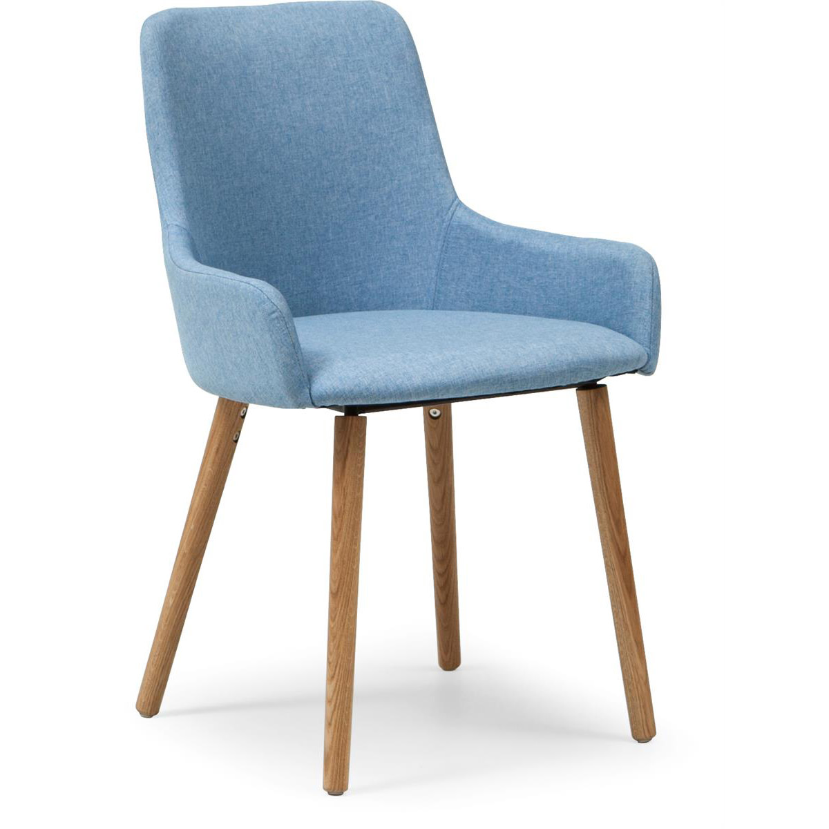 Bella blå stol tyg