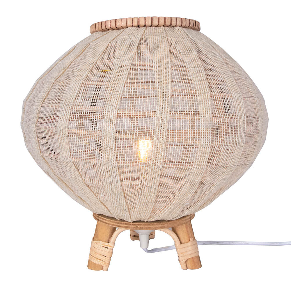 Borneo lampa bord 30 natur 1