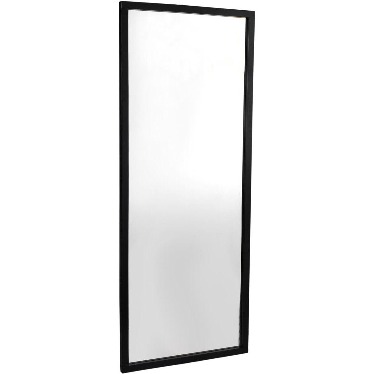 Confetti spegel 150x60 svart