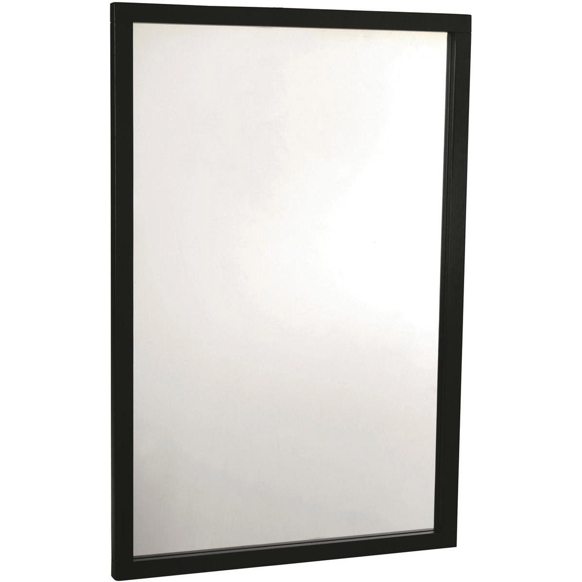 Confetti spegel 60x90 svart