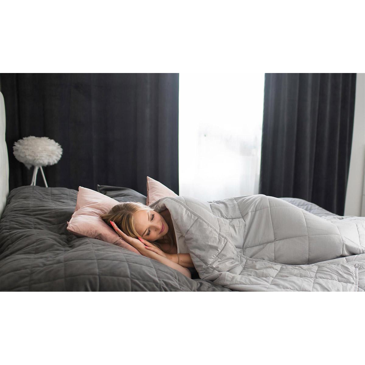 Cura pearl tyngdtäcke för bättre sömn