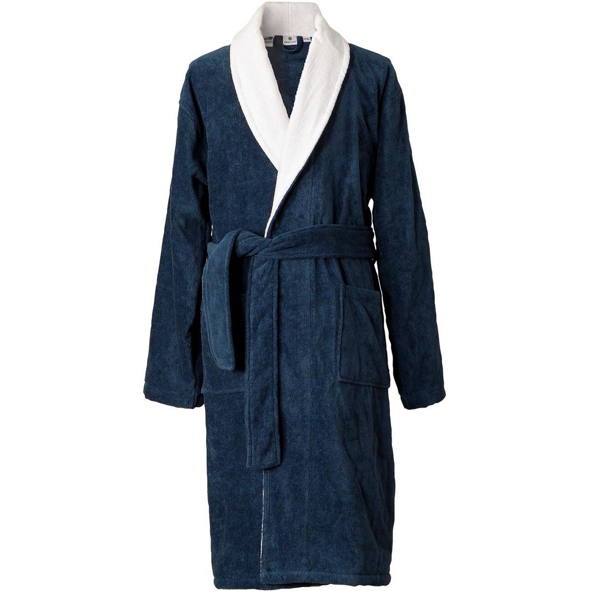 Ekelsjö badrock blå med vitt slag L/XL