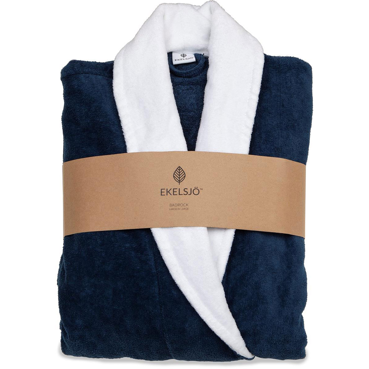 Ekelsjö badrock blå med vitt slag L/XL pack