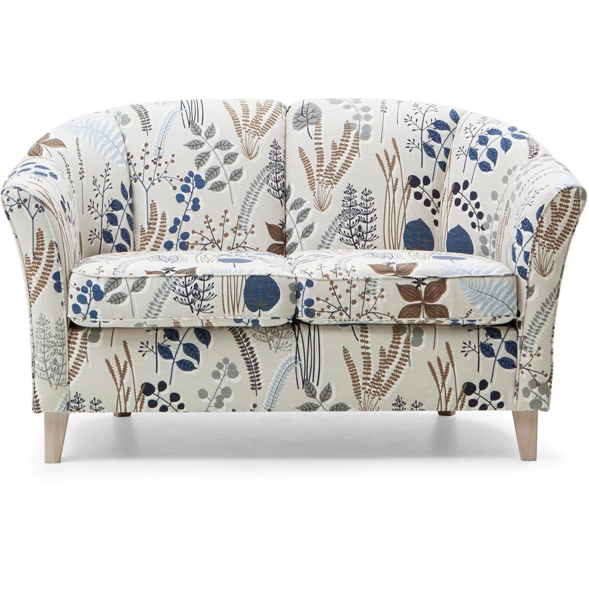 Ekerö soffa 2-sits botanic blue