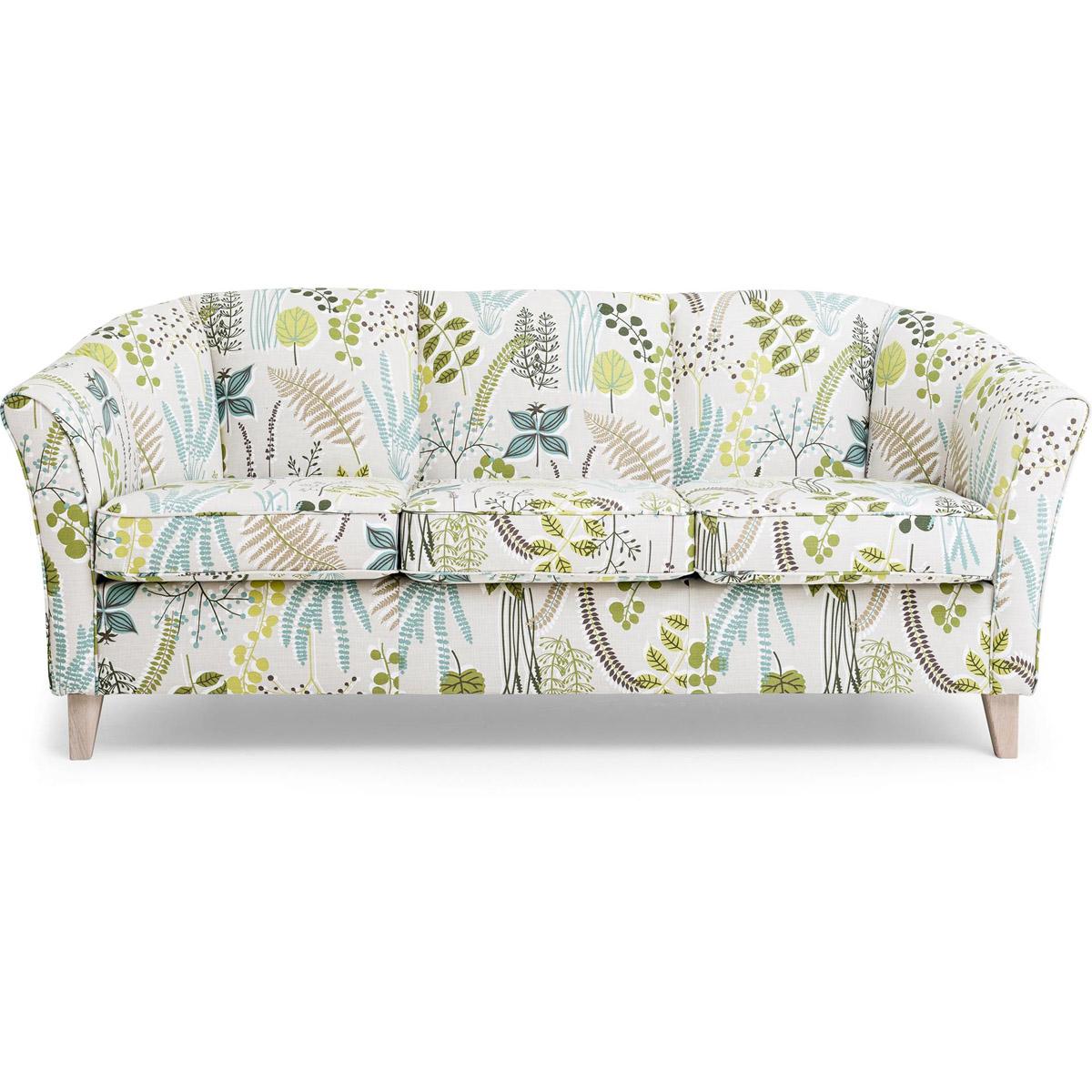 Ekerö soffa 3-sits botanik green