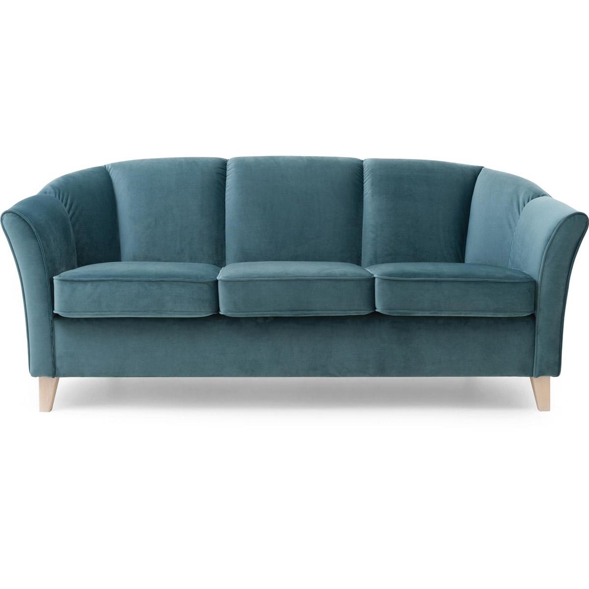 Ekerö soffa 3-sits tyg tiffany