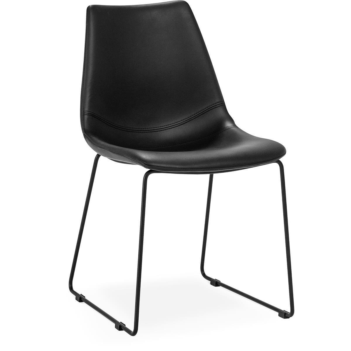 Eksta-stol-svart-svarta-ben-mobelmastarna