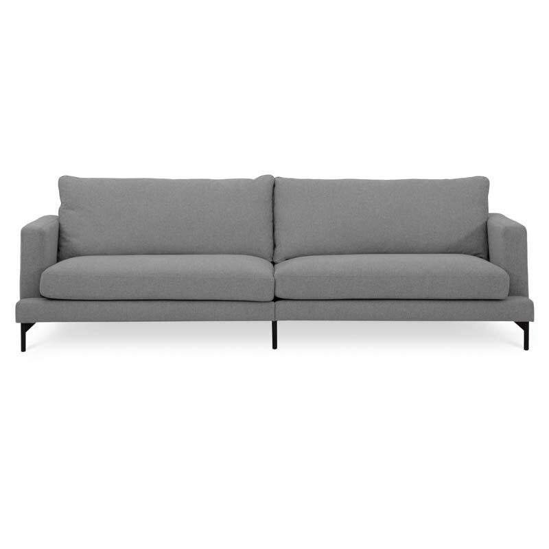 Elton soffa tyg Nordby steel fram