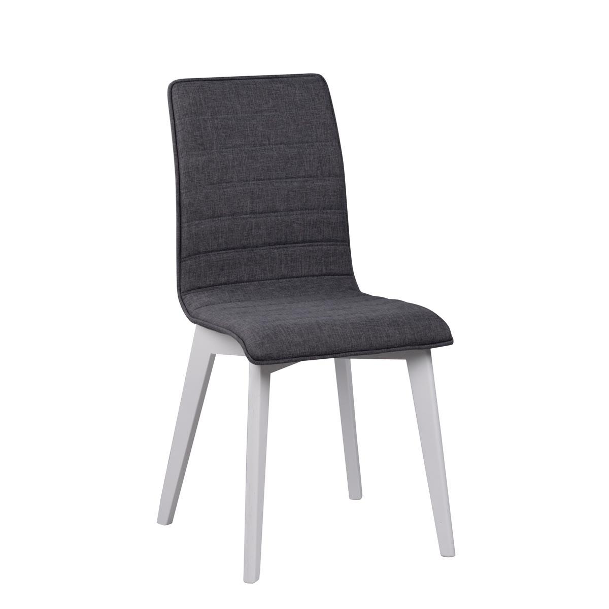 Febe-stol-morkgra-tyg-vit-Grace-113641