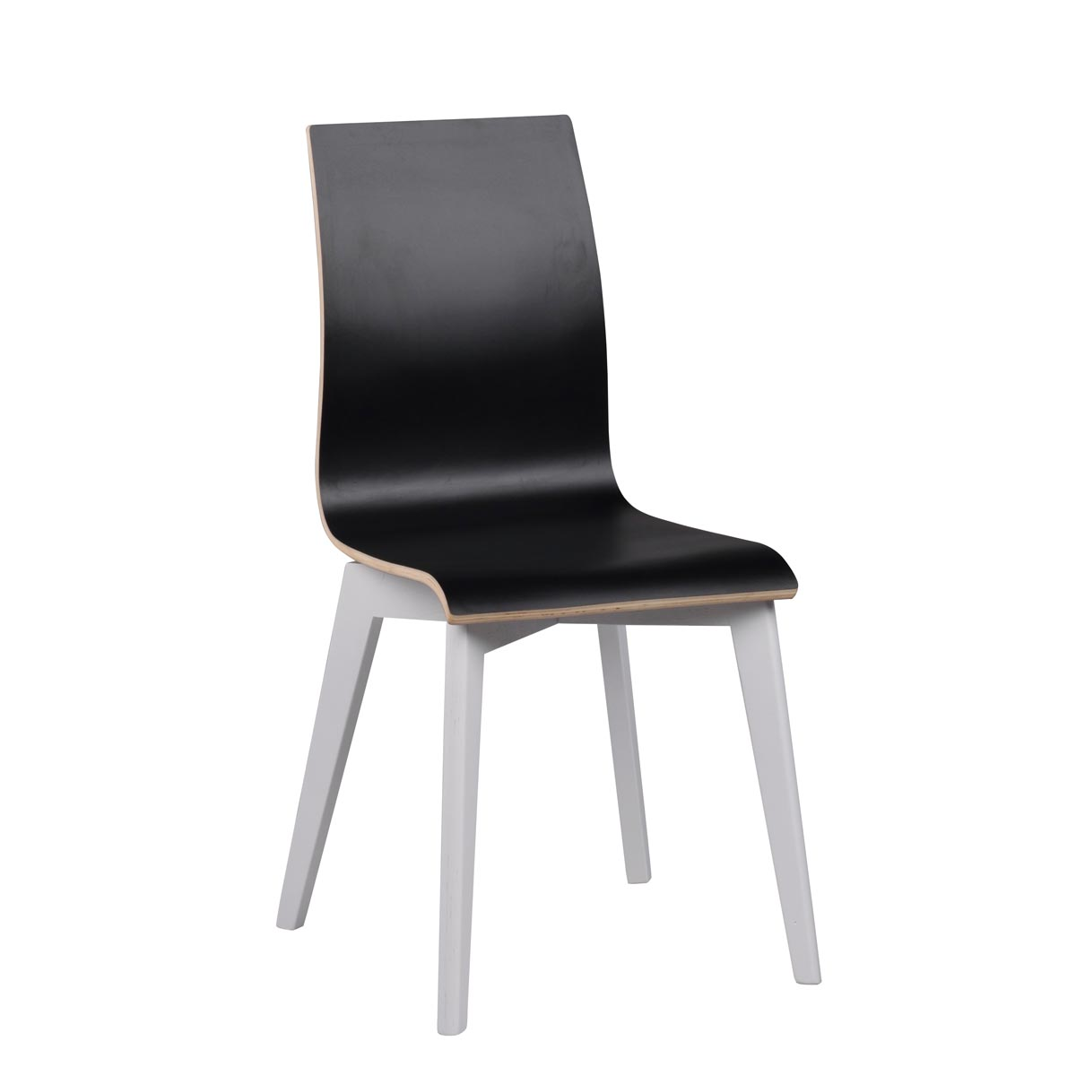 Febe-stol-svart-laminat-vit-Grace-113633