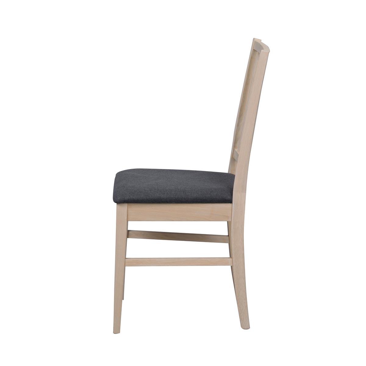 Vasa stol ww grå sits sida