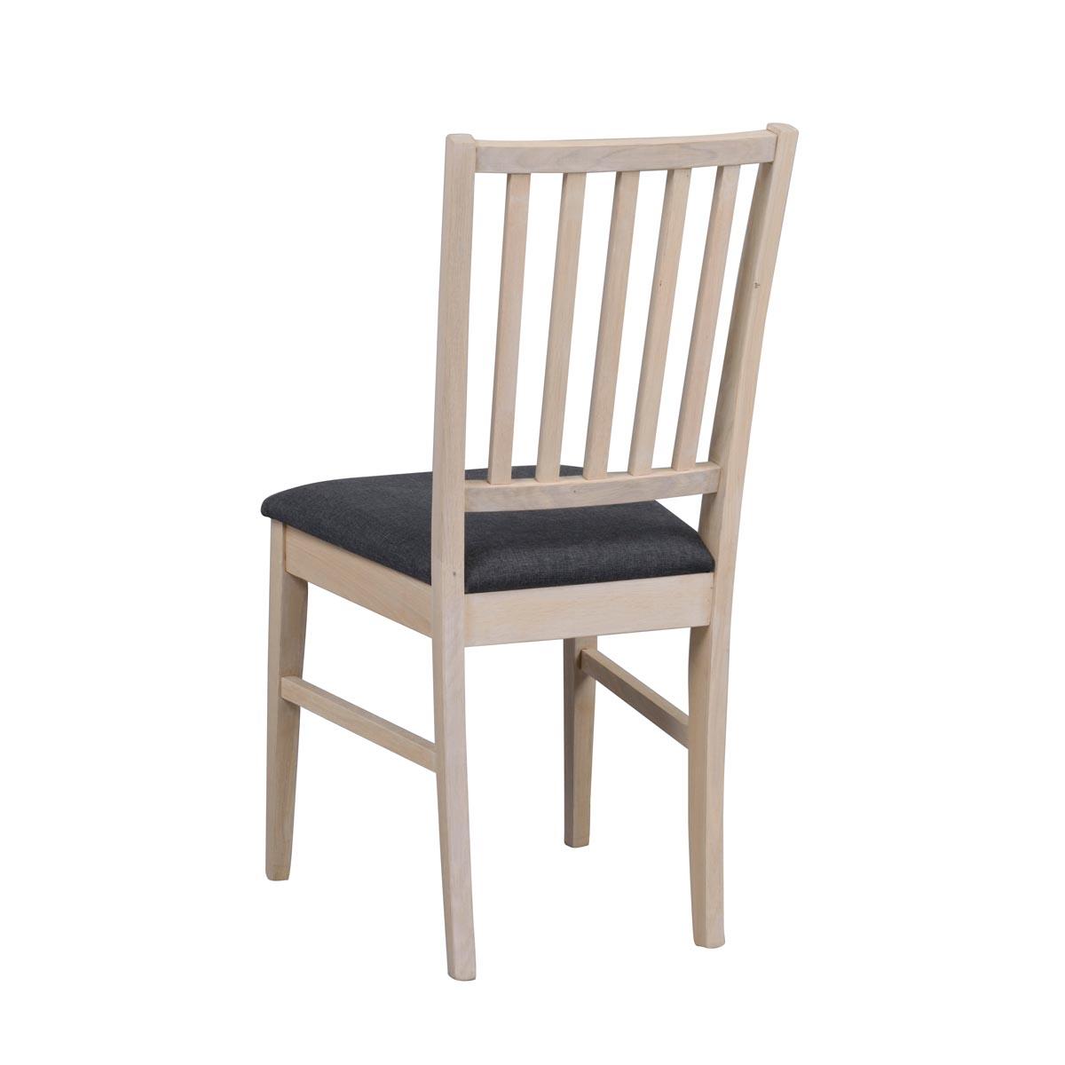 Vasa stol ww grå sits rygg