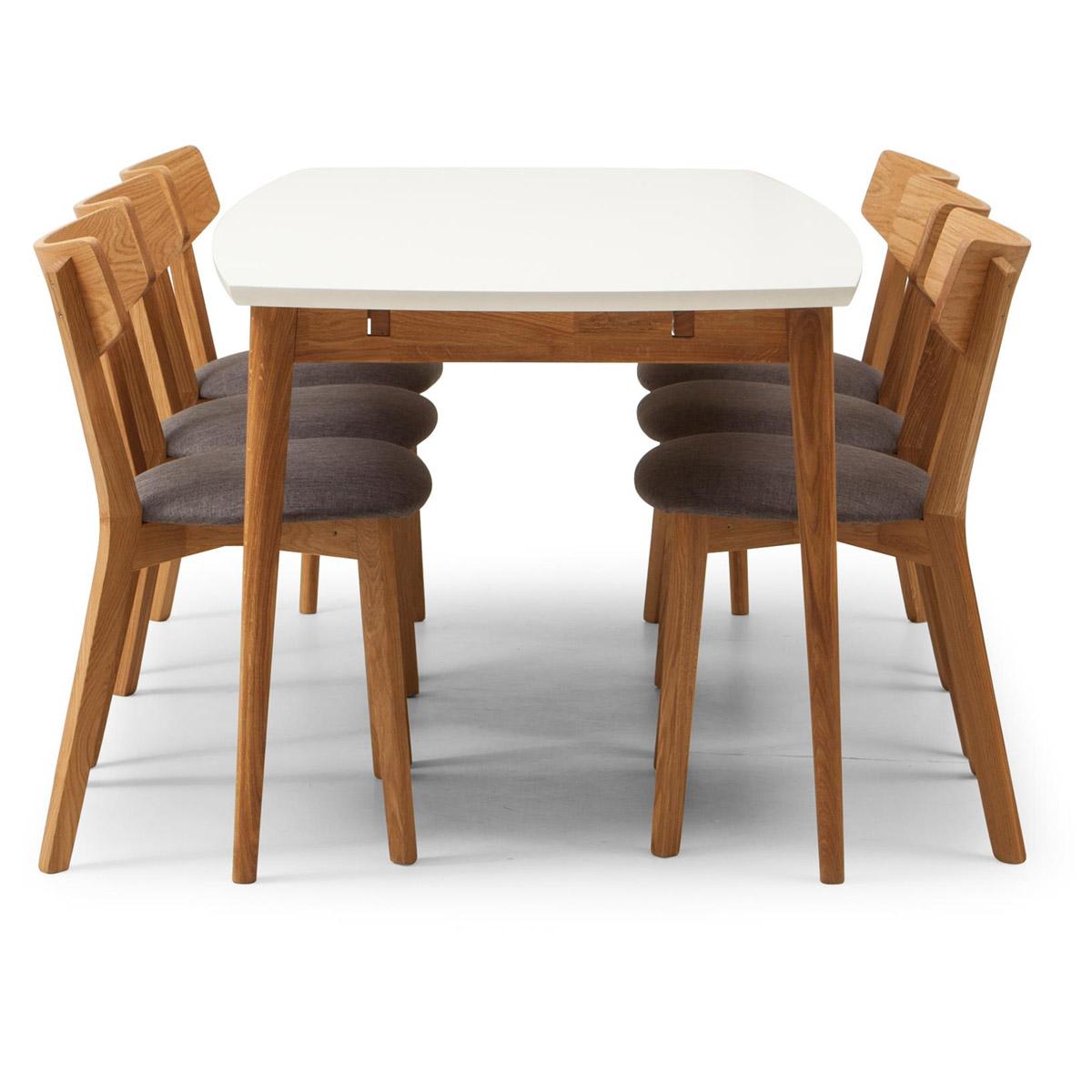 Furillen matbord 180 med 6 stolar