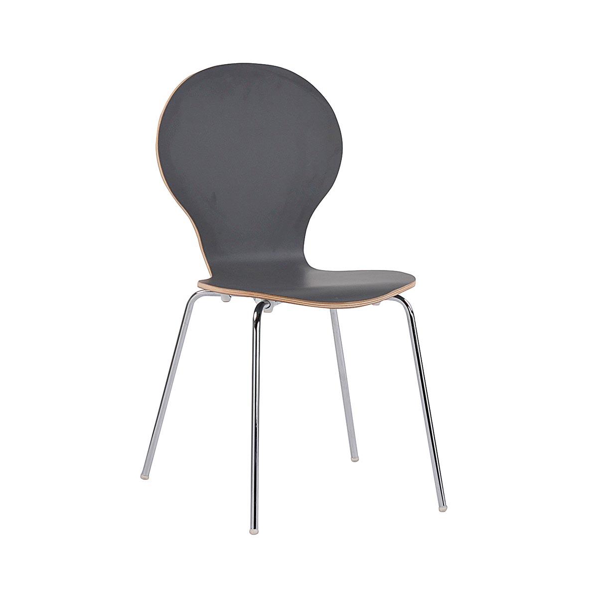 Fusion stol grafitgrå R-52127_a