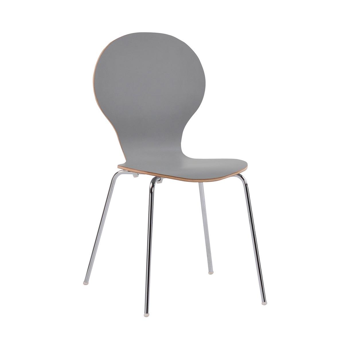 Fusion stol ljusgrå R-52128_a