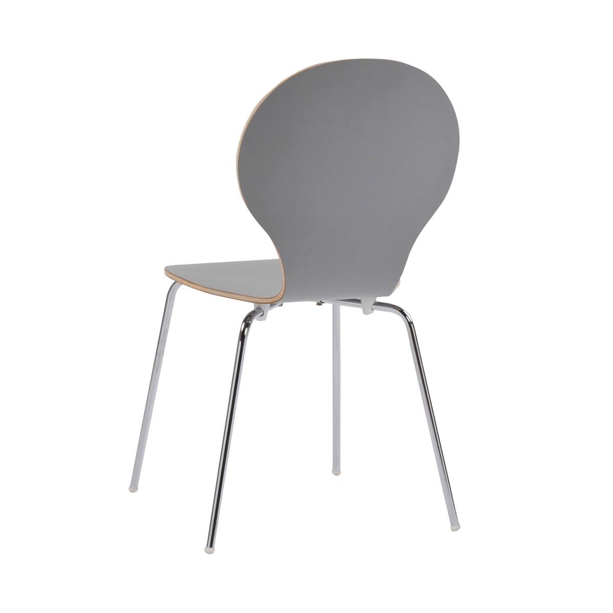 Fusion stol ljusgrå R-52128_d