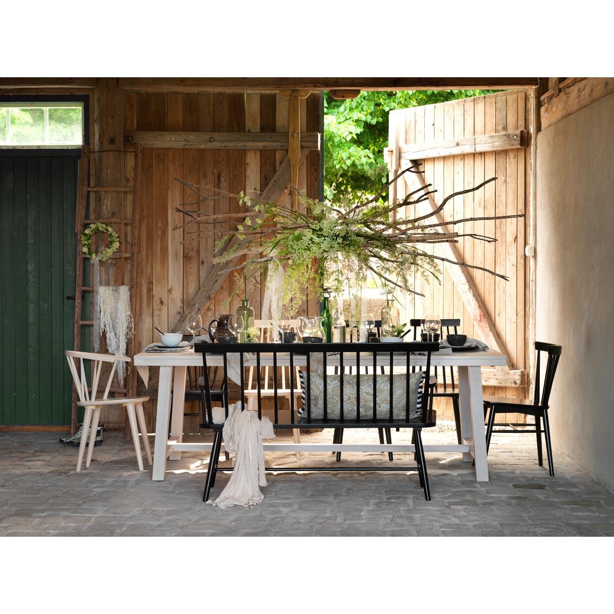 George-matbord-ww+grandpa-stol+pinnsoffa-svart-miljo