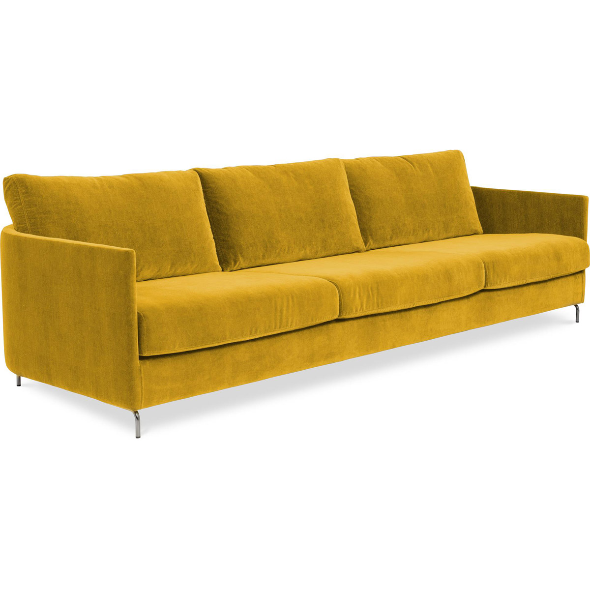 Harmony soffa Day 4-sits Azure 18 Yellow