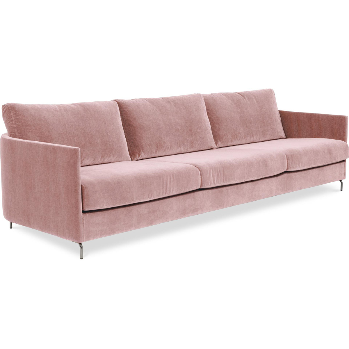 Harmony soffa Day 4-sits Azure 31 Pink