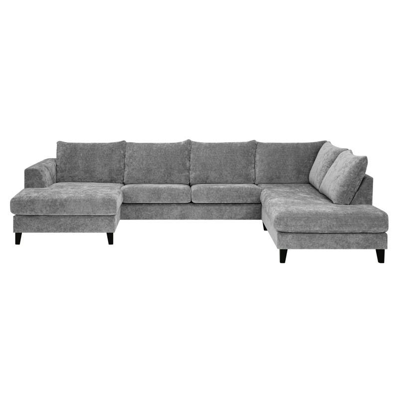 Hudson soffa tyg Alis grå