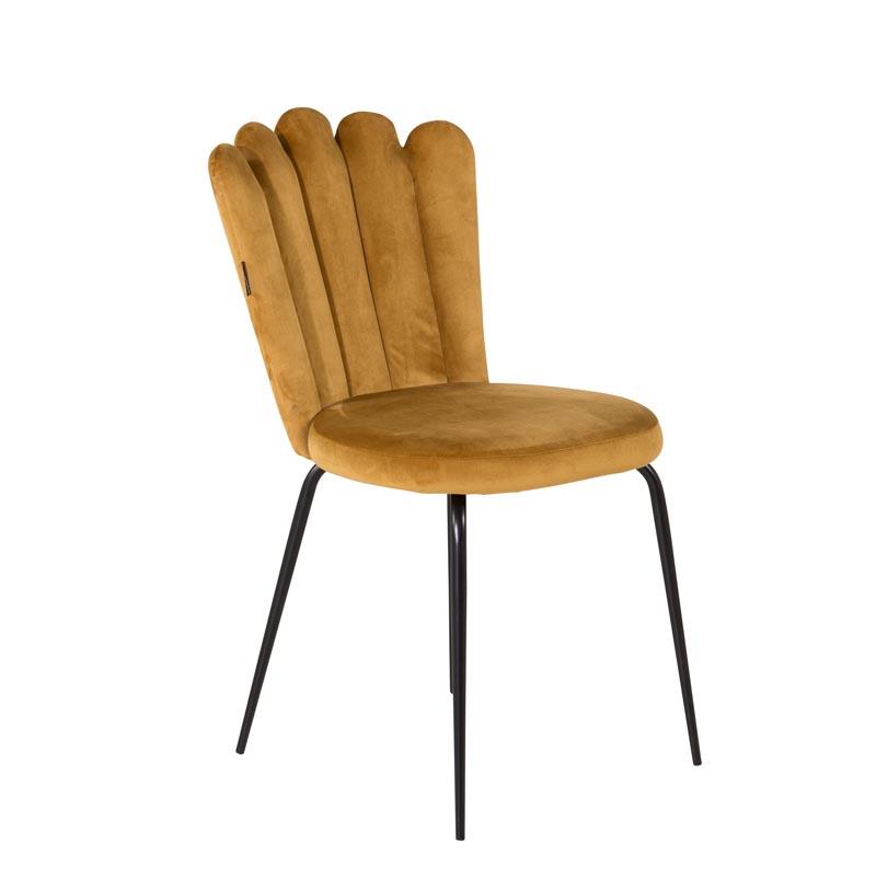 Limhamn-light-stol-guld-sammet