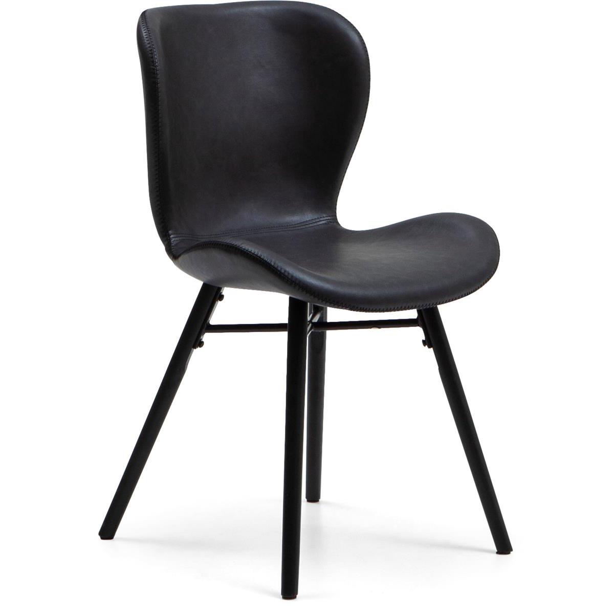 Lotus stol svart
