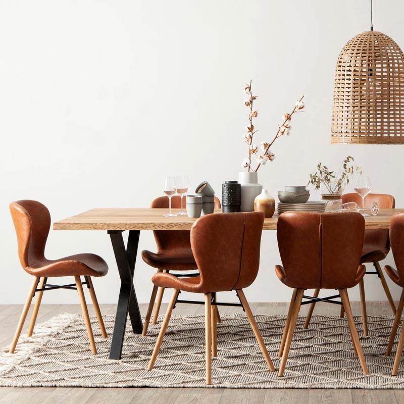 Lotus stol konstläder westville matbord miljö-2020