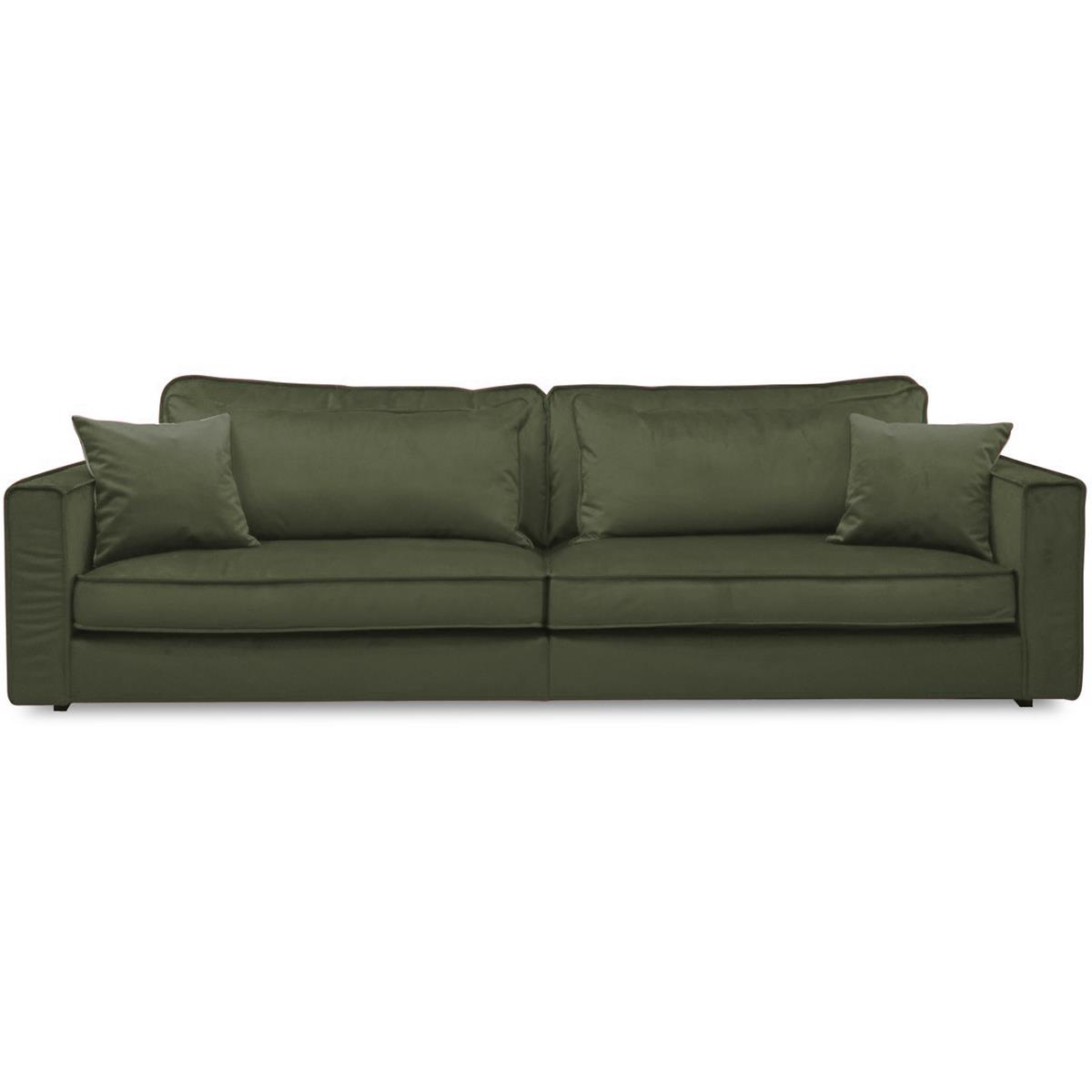 Luca-green-soffa-fasta-ryggkuddar