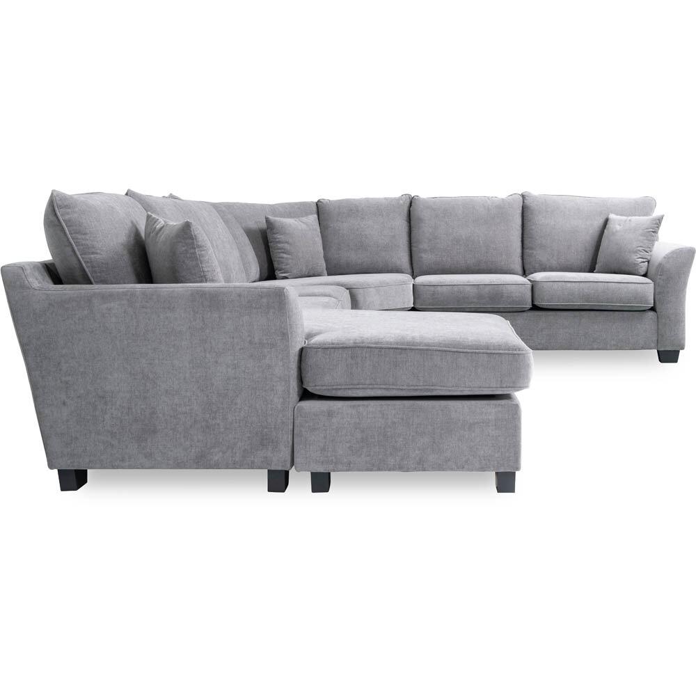 Mellow hörnsoffa med divan