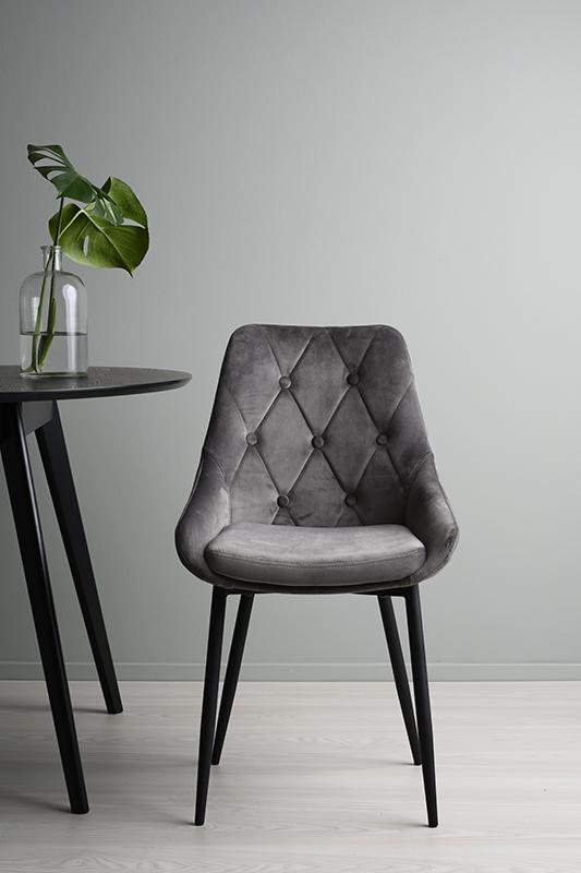 Ontario stol grå
