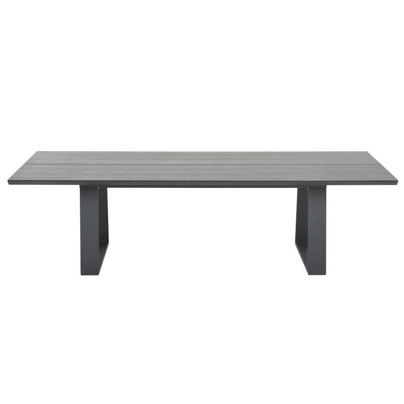 Parade soffbord svart askfaner 165x70 2