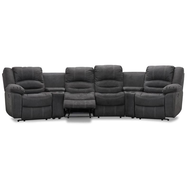 Paus-svangd-4-sitssoffa-gra-micro-recliner-mugghallare-fotstod