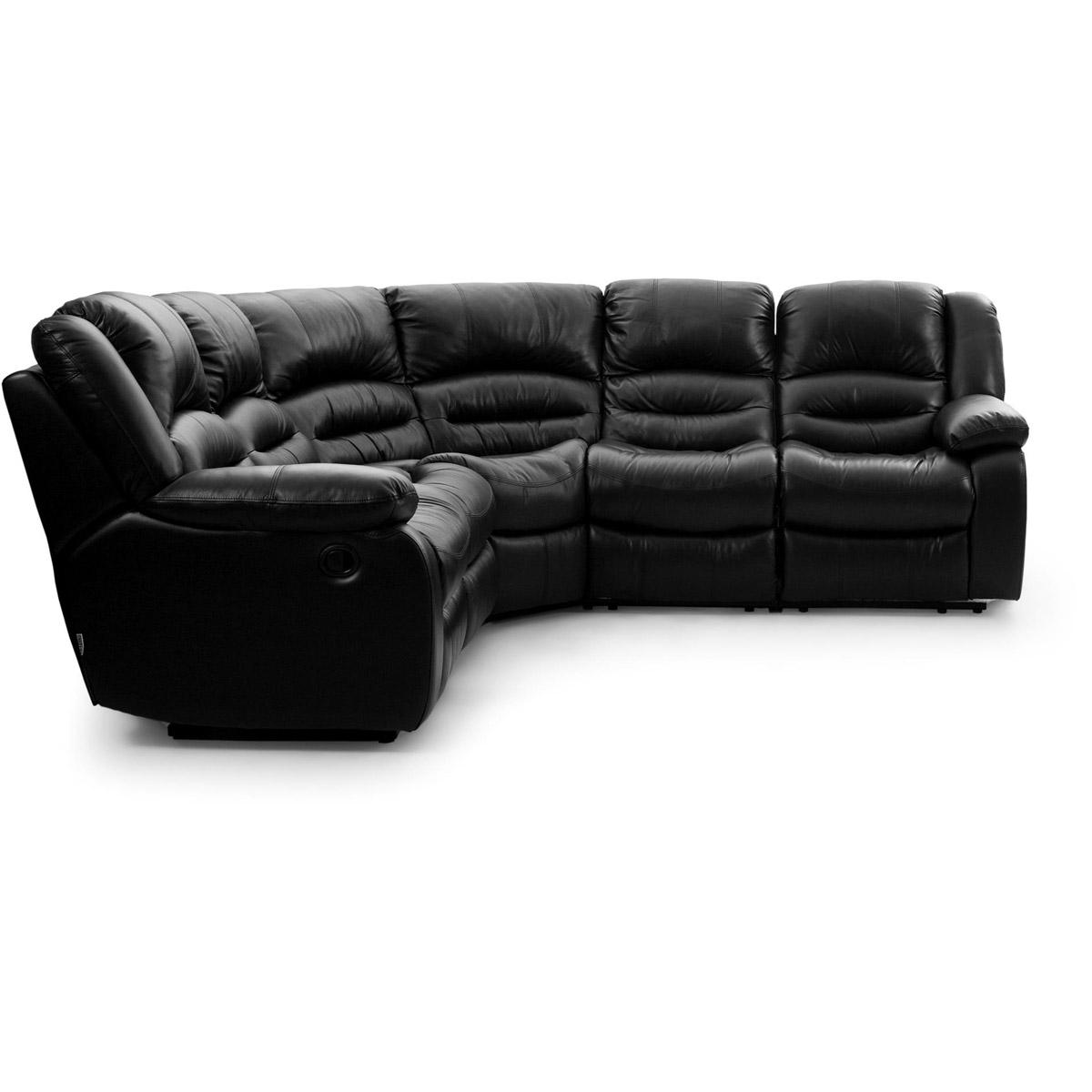 Paus-hornsoffa-recliner-svart-lader