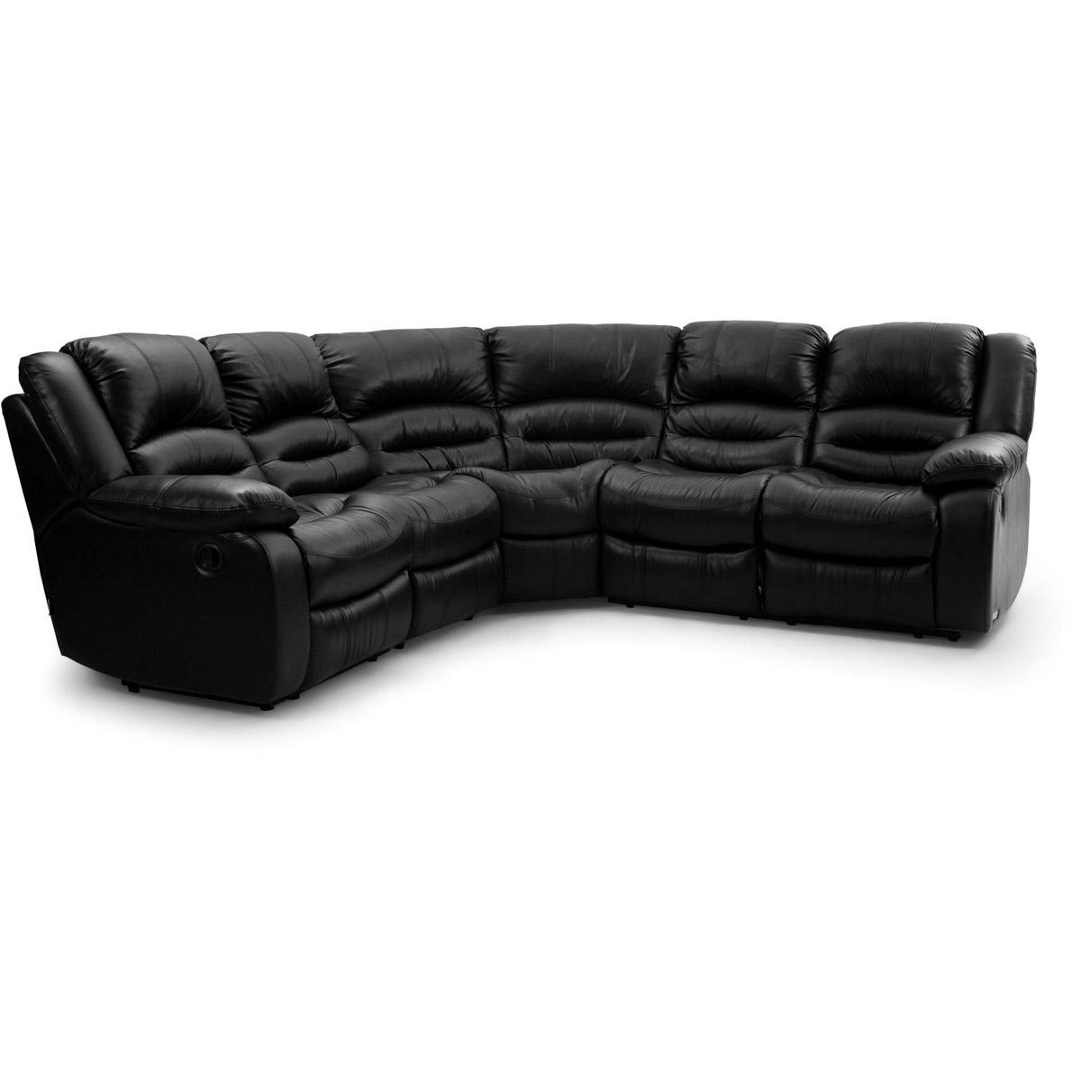 Paus-hornsoffa-recliner-svart-lader-vinkel