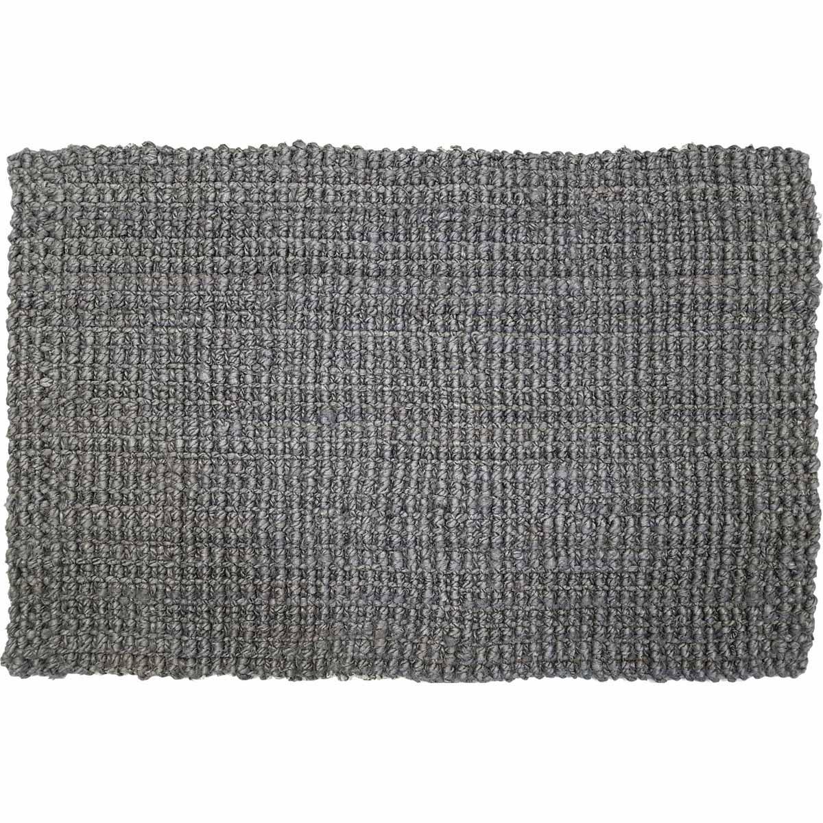Skåne dörrmatta jute grå 50x80