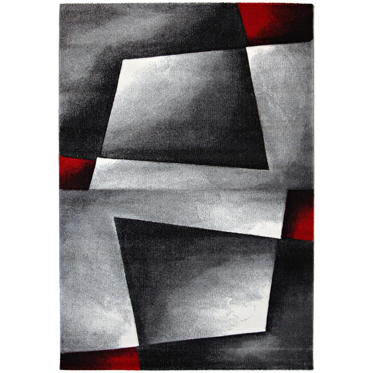 Salada matta grafiskt mönstrad grå röd