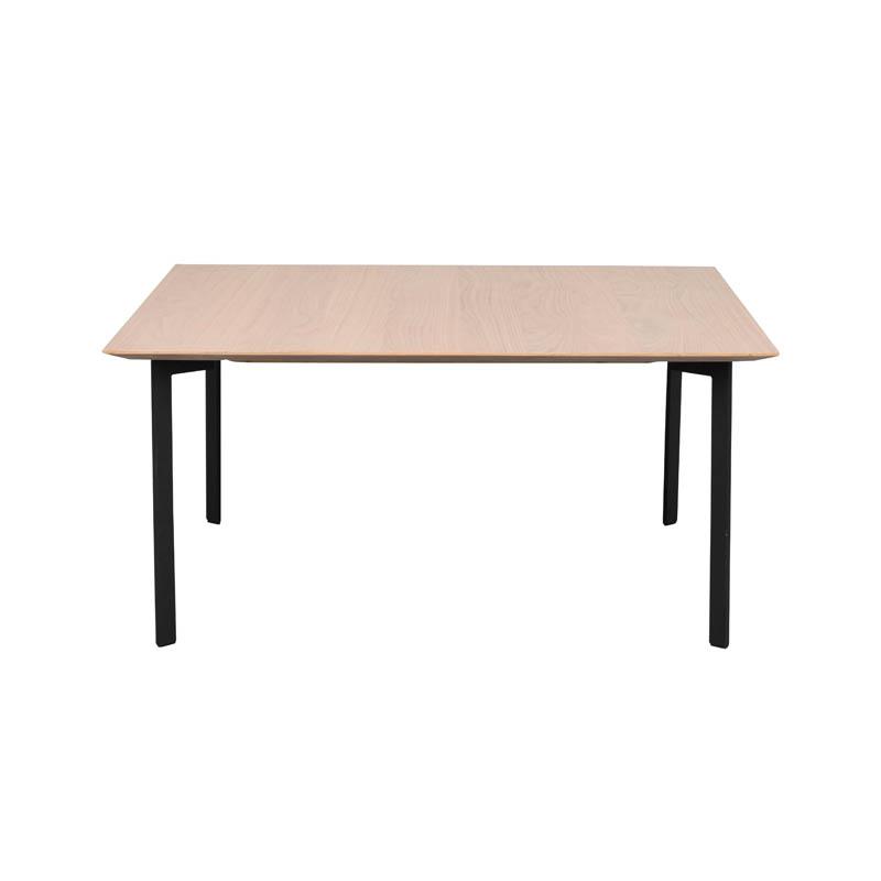 Spencer soffbord kvadr vitpigm svart