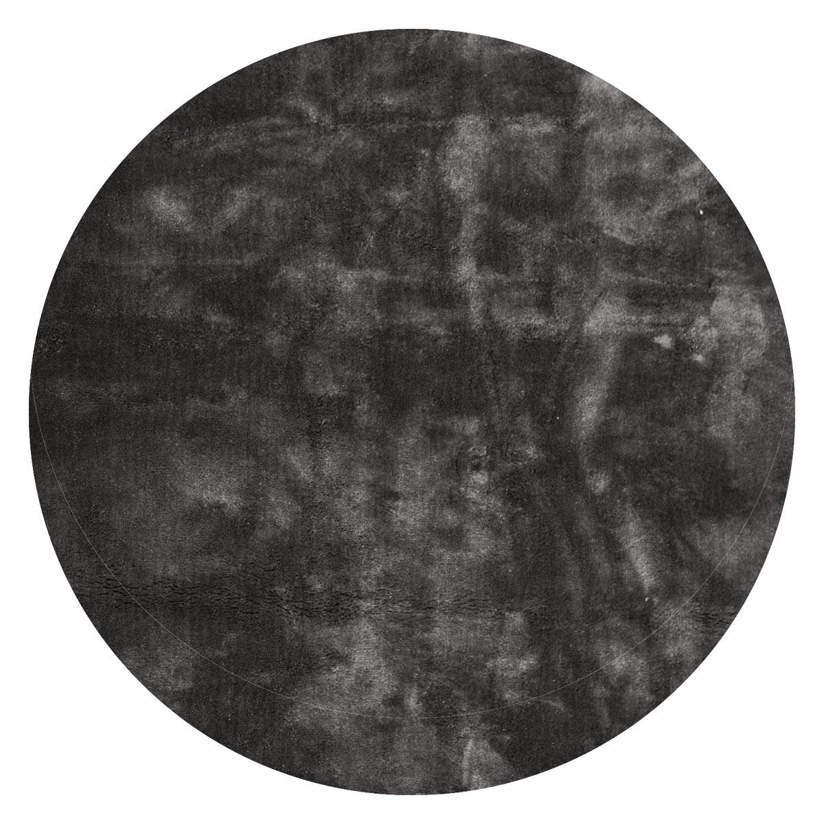 Undra matta rund mörkgrå