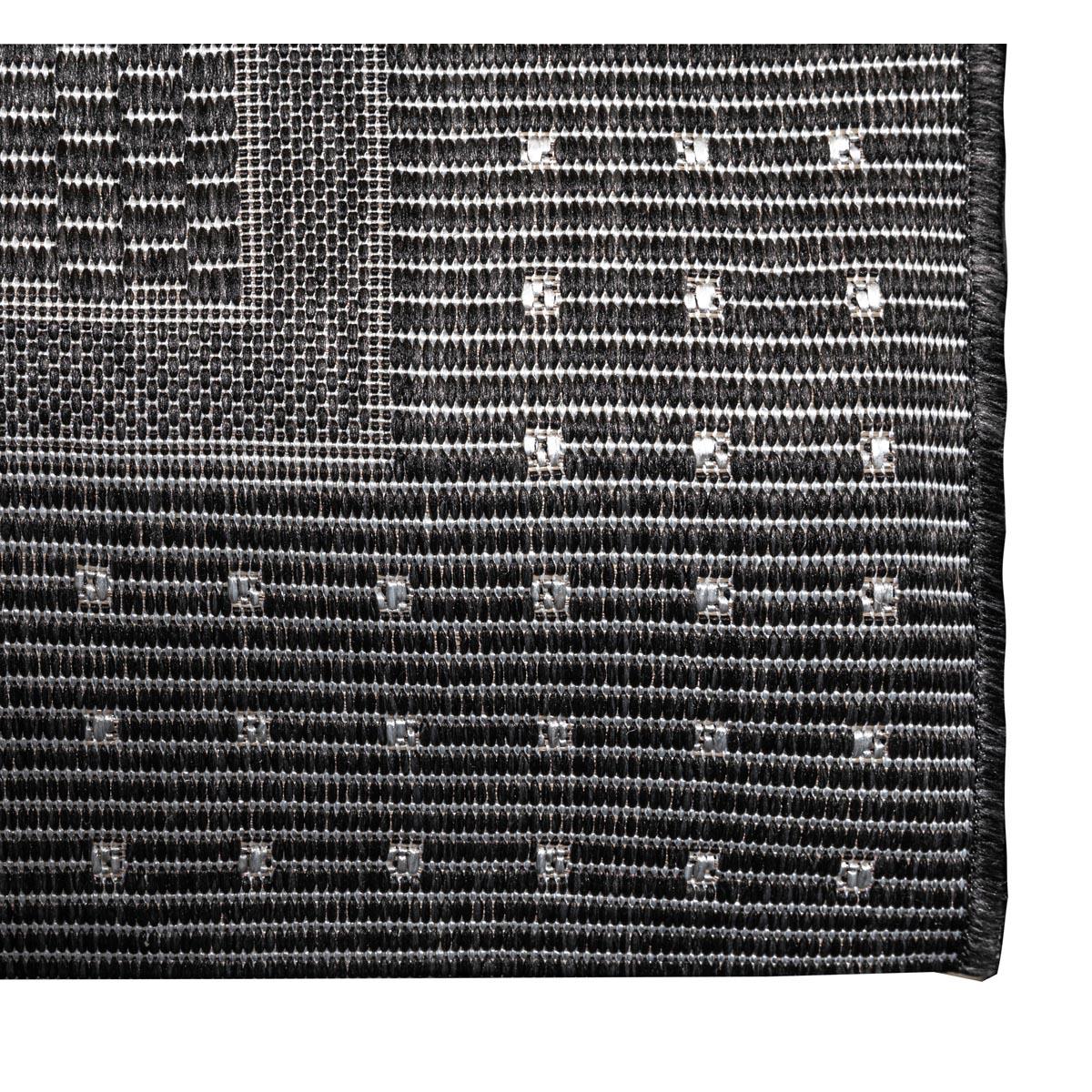 Washington-matta-gra-svart-detalj