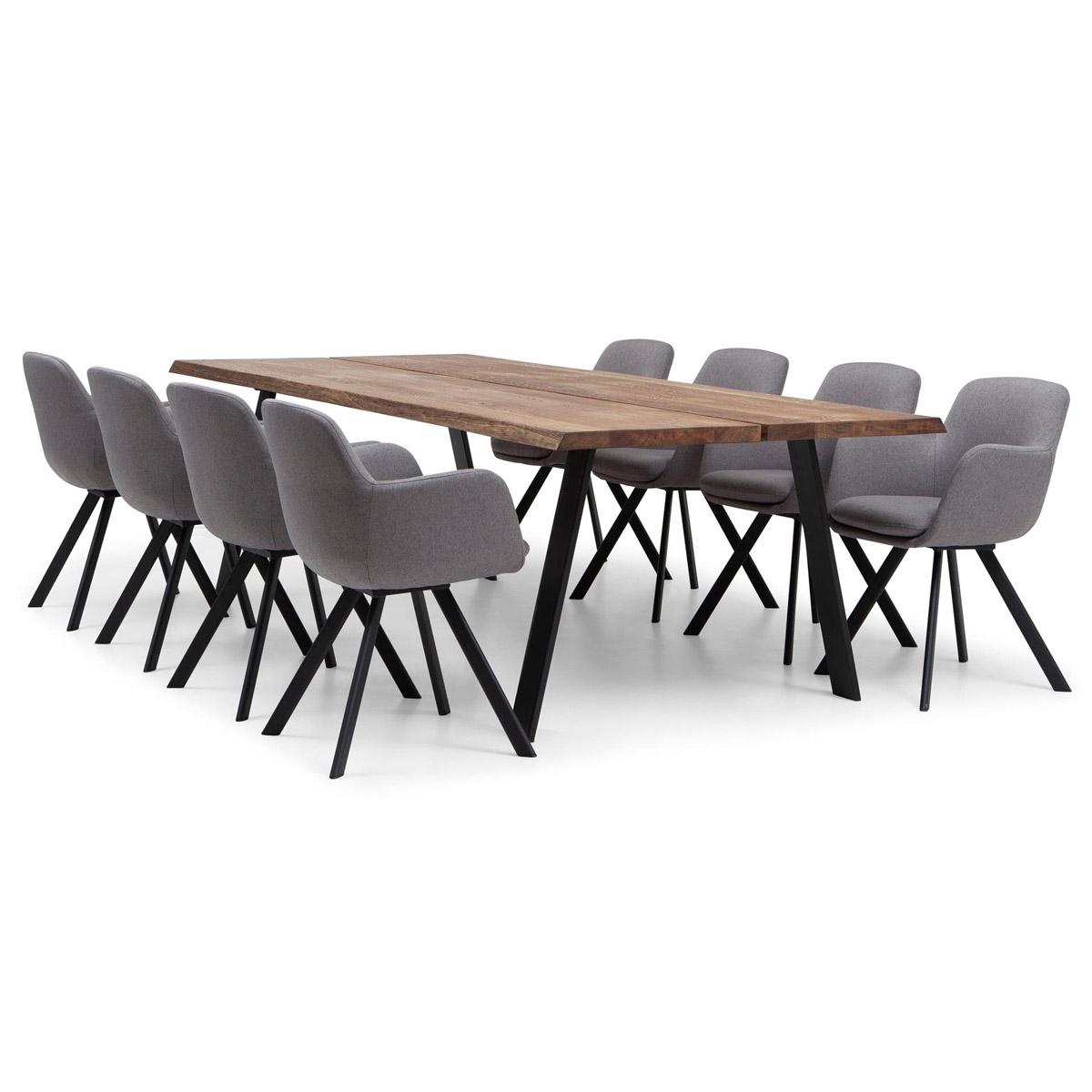 Westville bord stol grå