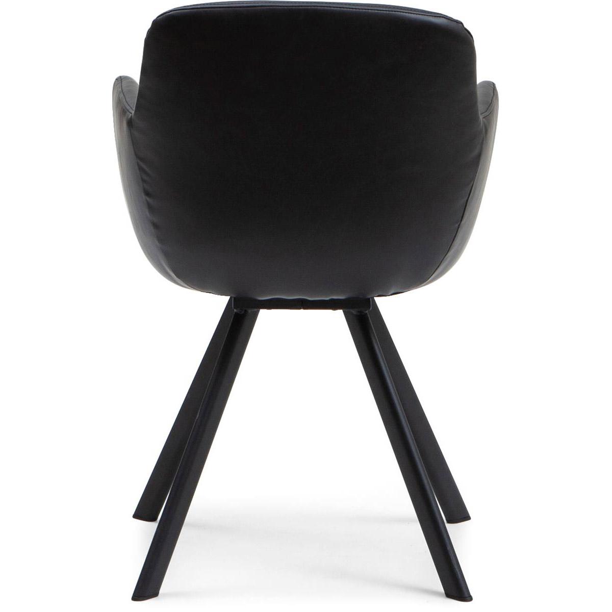 Westville stol svart bak