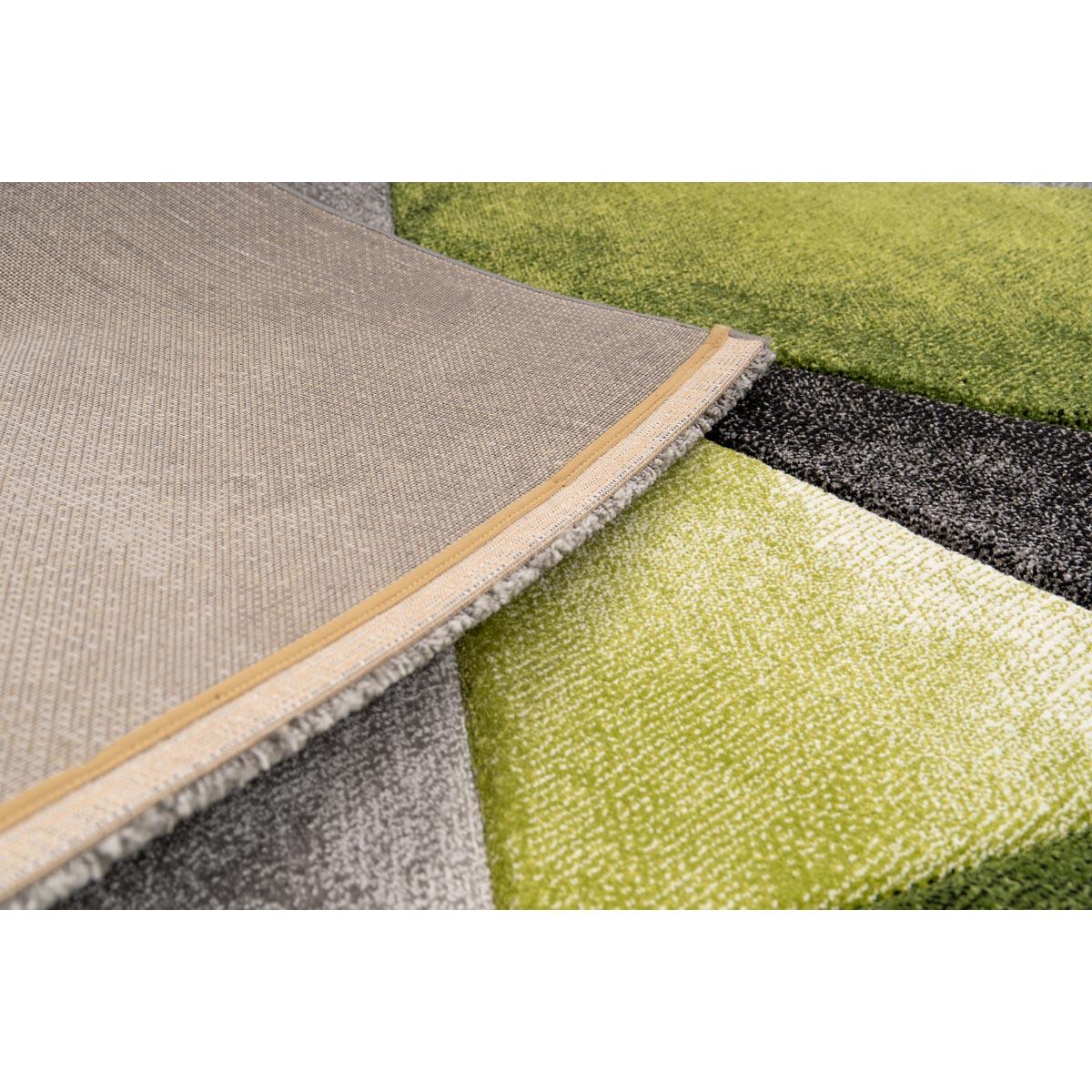 Zen matta grågrön grafiskt mönster closeup