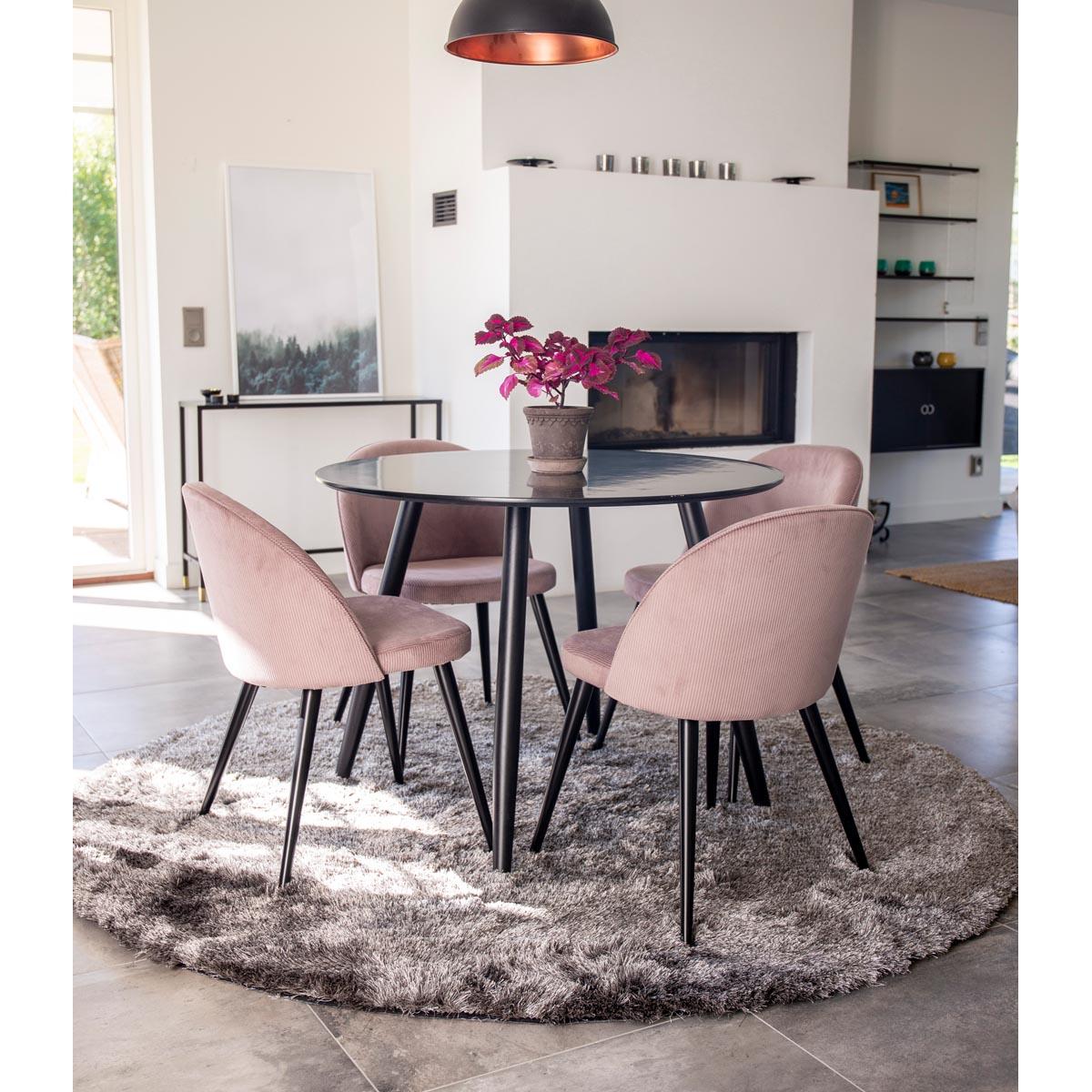 plaza-bord-svart+velvet-rosa-manchester-miljo-17940-488+19960-999+19983-345