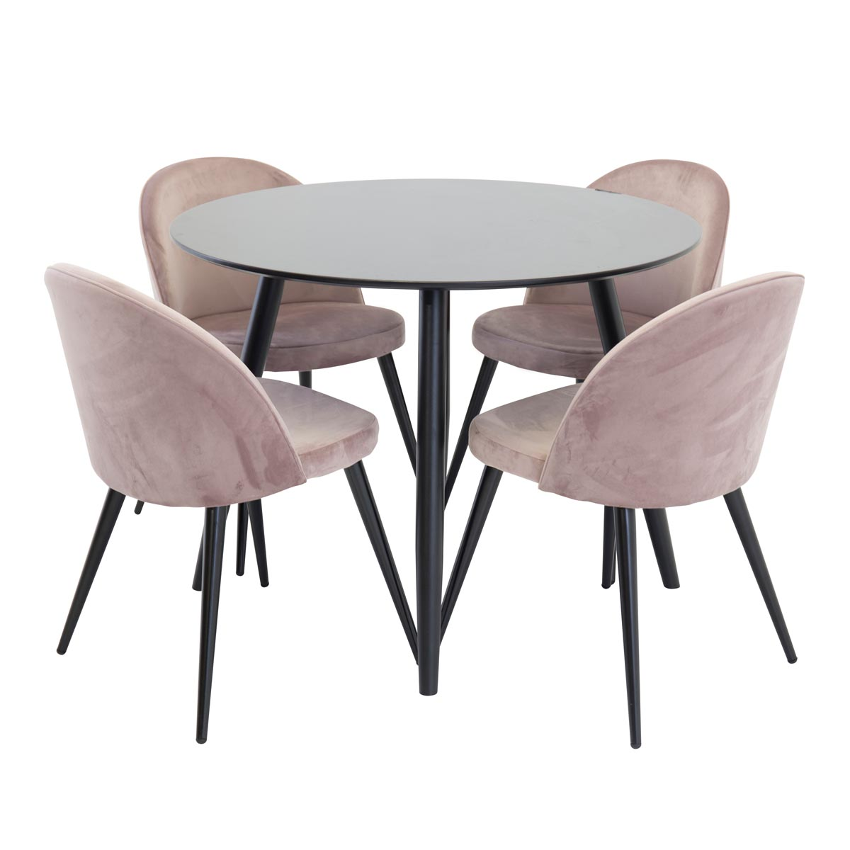 plaza-bord-svart+velvet-rosa-sammet-17940-488+19924-889