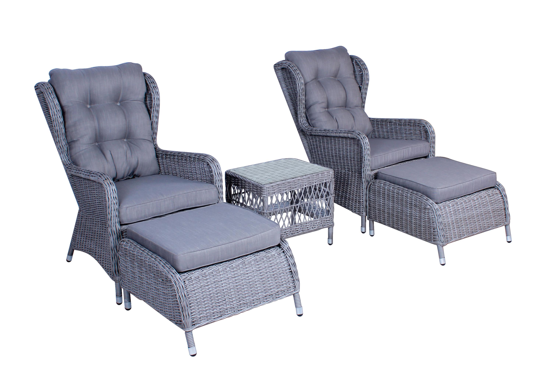 Washington lounge-set grå